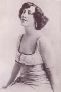 Olive Custance, poet.